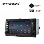 """6.2"""" Android 8.1 with Full RCA Output In-Dash GPS Navigation Multimedia System Custom Fit for Kia"""
