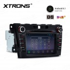 "7"" Android 8.1 with Full RCA Output In-Dash GPS Navigation Multimedia System Custom Fit for Mazda"
