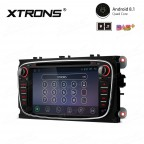 "7"" Android 8.1 with Full RCA Output In-Dash GPS Navigation Multimedia System Custom Fit for Ford"