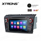 "7"" Android 8.1 with Full RCA Output In-Dash GPS Navigation Multimedia System Custom Fit for Mazda 3"
