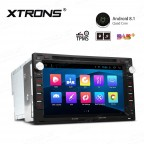 """7"""" Android 8.1 with Full RCA Output In-Dash GPS Navigation Multimedia System Custom Fit for Volkswagen/SEAT/SKODA"""