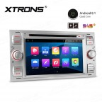 """7"""" Android 8.1 with Full RCA Output In-Dash GPS Navigation Multimedia System Custom Fit for Ford"""