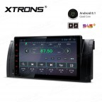 "9"" Android 8.1 with Full RCA Output In-Dash GPS Navigation Multimedia System Custom Fit for BMW"