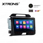 """9"""" Android 8.1 with Full RCA Output In-Dash GPS Navigation Multimedia System Custom Fit for KIA"""