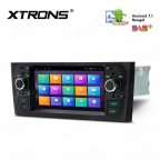 "6.1"" Android 7.1 Quad core 16GB ROM in-dash mechless car stereo with full RCA Output Custom Fit for FIAT"