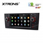 """6.1"""" HD Digital Android 7.1 Nougat Quad core 16GB ROM Multi Touch Screen Car Stereo Custom Fit for FIAT"""