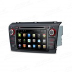 "7"" Android 6.0 Marshmallow HD Digital Multi-touch Screen 1080P Video Car DVD Player Custom Fit for Mazda 3"