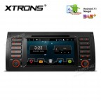"""7"""" Android 7.1 Nougat Quad core 16GB ROM HD Digital Multi Touch Screen Car DVD Player Custom Fit for BMW"""