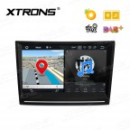 "8"" Android 8.0 Octa-Core 32GB ROM + 4G RAM Multimedia DVD Player Custom fit for Porsche"