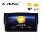 "Android 8.0 Octa-Core 32GB ROM + 4G RAM Multimedia Player with 8"" Display Custom Fit for Mercedes-Bens"