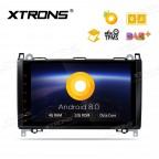 "Android 8.0 Octa-Core 32GB ROM + 4G RAM Multimedia Player with 9"" Display support car auto play Custom Fit for Mercedes-Bens"
