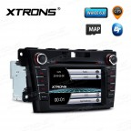 """7""""HD Digital Touch Screen GPS CANbus Car DVD Player With Screen Mirroring Function For Mazda"""