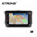 7 inch HD Digital Touch Screen Dual CANbus GPS Navigator Car DVD Player Custom fit for Volkswagen / Skoda / Seat