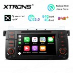 """7""""Android 10.0 Hexa Core 64GB ROM + 4G RAM car DVD Receiver Navigation System with HDMI Output Custom Fit for BMW / Rover / MG"""