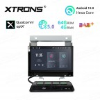 """7""""Android 10.0 Hexa Core 64GB ROM + 4G RAM car DVD Receiver Navigation System with HDMI Output Custom Fit for Land Rover"""