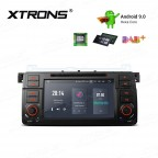 """7""""Android 9.0 Hexa Core 64GB ROM + 4G RAM car DVD Receiver Navigation System with HDMI Output Custom Fit for BMW / Rover / MG"""