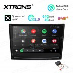 8 inch Android 10.0 Hexa Core 64GB ROM + 4GB RAM Car Stereo Navigation System with HDMI Output Custom Fit for Porsche