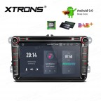 """8"""" Android 9.0 HDMI Output Multimedia DVD Player with Car Receiver Navigation System Custom Fit for Volkswagen"""