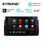 9 inch Android 10.0 Hexa Core 64GB ROM + 4GB RAM Car Stereo Navigation System with HDMI Output Custom Fit for BMW / Rover / MG