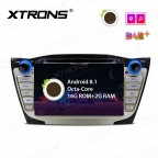 """7"""" Android 8.1 Octa-Core Car Stereo Smart Multimedia Player Custom fit for Hyundai"""