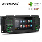 "5"" Android 9.0 with Full RCA Output HD Screen Multifunctional Android Car Stereo Custom Fit for Chrysler 