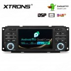5 inch Android 9.0 with Full RCA Output&Built-in DSP HD Screen Multifunctional Android Car Stereo Custom Fit for Chrysler | Jeep | Dodge