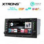 6.2 inch Multimedia Car DVD Player Navigation System With Built-in CarAutoPlay and DSP Fit for Kia