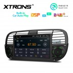 7 inch Android 10.0 Multimedia Car Stereo Navigation System with Built-in CarAutoPlay and DSP Fit for FIAT