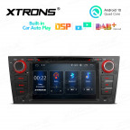 7 inch Android 10.0 Multimedia Car DVD Player Navigation System With Built-in Wired CarAutoPlay and DSP Fit for BMW E90/E91/E92/E93