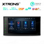 7 inch Android  2GB RAM + 32GB ROM Multimedia Car Stereo Navigation System With Built-in CarPlay and DSP For  Toyota