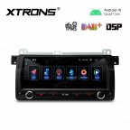 8.8 inch Android 10.0 Car Navigation Stereo with Built-in DSP Custom Fit for BMW