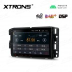 8 inch Android 10.0 Car Navigation Multimedia Player with Built-in DSP Custom Fit for Chevrolet / Buick / GMC / HUMMER