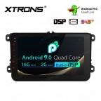 8 inch Android 9.0 HD Screen multifunctional Android Car Stereo with Full RCA Output&Built-in DSP Custom Fit For VW / SEAT / SKODA