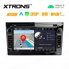 7 inch Android 10 GPS Multimedia Player with Built-in DSP Built-in CarAutoPlay & Android Auto Custom Fit for Opel / Vauxhall / Holden
