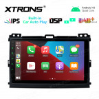 9 inch IPS Screen 2GB RAM 32GB ROM Car GPS Navigation Multimedia Player With Built-in Wired CarAutoPlay and DSP Fit For TOYOTA / LEXUS
