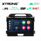 9 inch IPS Screen 2GB RAM 32GB ROM Car GPS Navigation Multimedia Player With Built-in CarPlay and DSP Fit For Kia