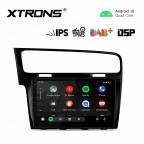 10.1 inch IPS Screen Navigation Multimedia Player with Built-in DSP Fit for Volkswagen(Left Hand Drive Vehicles ONLY)