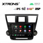 10.1 inch IPS Screen Navigation Multimedia Player with Built-in DSP Fit for TOYOTA