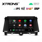 9 inch IPS Screen with Built-in DSP Navigation Multimedia Player Fit for Honda