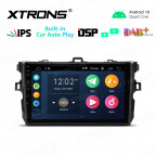 9 inch IPS Screen 2GB RAM 32GB ROM Car GPS Navigation Multimedia Player With Built-in Wired CarAutoPlay and DSP Fit For TOYOTA