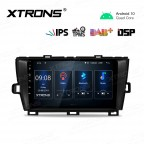 9 inch IPS Screen Navigation Multimedia Player with Built-in DSP Fit for TOYOTA(Left Hand Drive Vehicles ONLY)