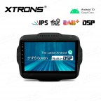 9 inch IPS Screen Navigation Multimedia Player with Built-in DSP Fit for Jeep
