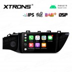9 inch  IPS Screen Navigation Multimedia Player with Built-in DSP Fit for KIA (Fit Left Hand Drive Vehicles ONLY)