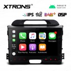 9 inch IPS Screen Navigation Multimedia Player with Built-in DSP Fit for Kia