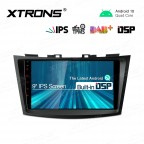 9 inch IPS Screen with Built-in DSP Navigation Multimedia Player Fit for SUZUKI