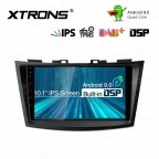9 inch Android 9.0 IPS Screen with Built-in DSP Navigation Multimedia Player Fit for SUZUKI