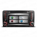 "7"" HD Touch Screen DVD Player With GPS Navigation Canbus For Audi A3/S3"