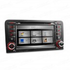 "7"" HD Touch Screen DVD Player With GPS Navigation Canbus For Audi A3 (2003-2011)"