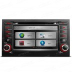 "7"" HD Touch Screen DVD Player With GPS Navigation Canbus For  Audi A4"