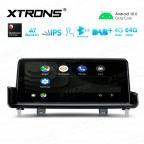 10.25 inch Car Android Multimedia Navigation System with Built-in 4G for BMW 3 Series E90/E91/E92/E93 Left Driving Vehicles